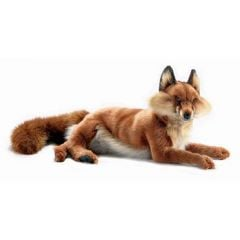 Red Fox, Lying (Hansa Plush)