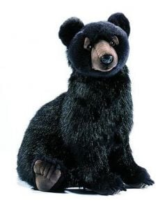 Black Bear (Hansa Plush)