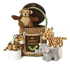 My Jungle Friends Plush Set (Aurora Baby Talk™)