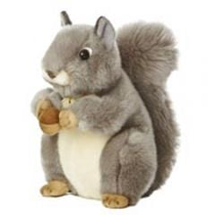Gray Squirrel (Miyoni™ Plush)