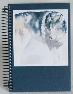 Wolf (Spiral-Bound Journal)