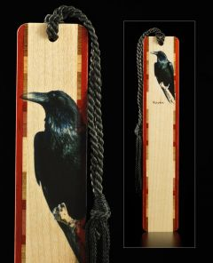 Raven Wood Bookmark