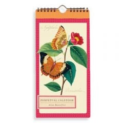 Asian Butterflies Perpetual Calendar