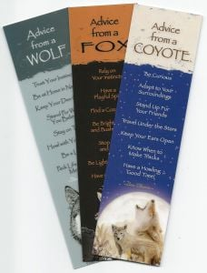 "ֳ¢ג'¬ֵ""Advice Fromֳ¢ג'¬ֲ¦""ֳ¢ג€ֲ¢ Wild Canines (Bookmark Set Of 3)"
