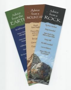 """""""Advice From…""""™ The Earth (Bookmark Set Of 3).  These"""