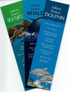 "ֳ¢ג'¬ֵ""Advice Fromֳ¢ג'¬ֲ¦""ֳ¢ג€ֲ¢ Marine Animals (Bookmark Set Of 3)."