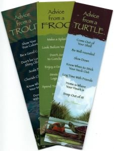 "ֳ¢ג'¬ֵ""Advice Fromֳ¢ג'¬ֲ¦""ֳ¢ג€ֲ¢ Pond & Lake Animals (Bookmark Set Of 3)"