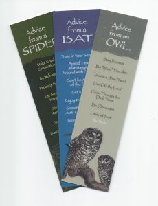 """""""Advice From…""""™ Spooky Critters (Bookmark Set Of 3)"""