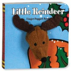 Little Reindeer (Finger Puppet Board Book)