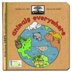 Animals Everywhere (Green Start® Board Book)
