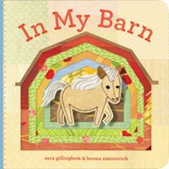 In My Barn (Finger Puppet Board Book)