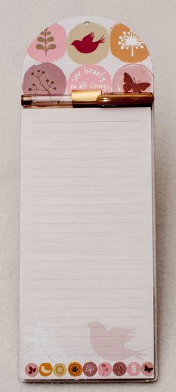 Pastel Birds List Pad