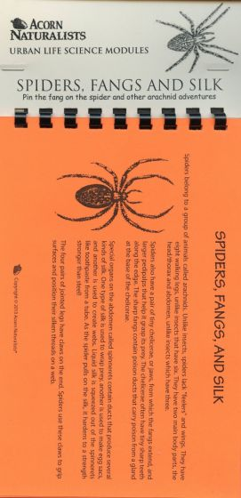 Spiders, Fangs, and Silk (Urban Life Science Module®)