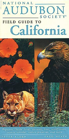 California (National Audubon Society Regional Field Guide)