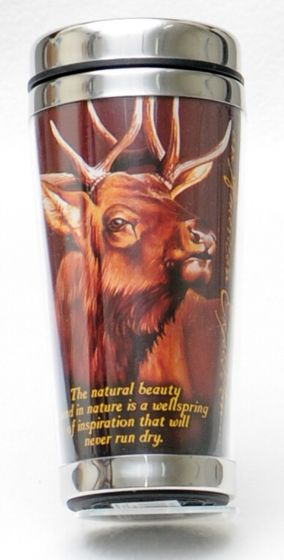 American Elk Travel Mug