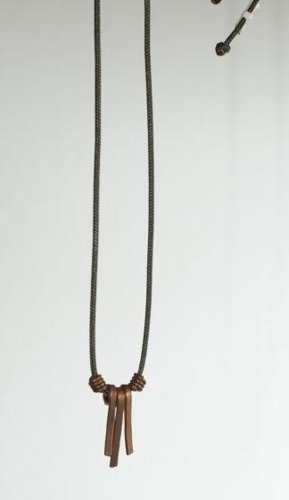 Copper Strand Necklace.