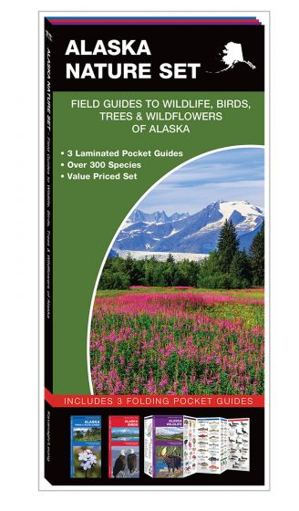 Alaska Nature Set: Field Guides to Wildlife