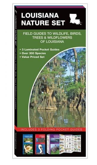 Louisiana Nature Set: Field Guides to Wildlife