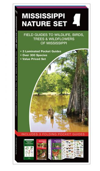 Mississippi Nature Set: Field Guides to Wildlife