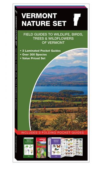Vermont Nature Set: Field Guides to Wildlife