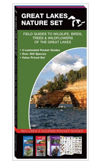 Great Lakes Nature Set: Field Guides to Wildlife, Birds, Trees & Wildflowers (Pocket Naturalist® Guide Set)