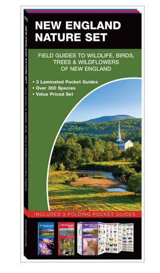 New England Nature Set: Field Guides to Wildlife, Birds, Trees & Wildflowers (Pocket Naturalist® Guide Set)