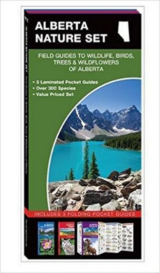 Alberta Nature Set: Field Guides to Wildlife