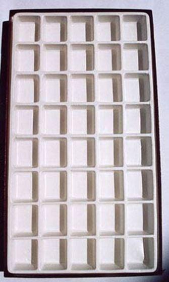 "Opaque Compartmentalized Specimen Boxes (Large: 12"" X 20"""