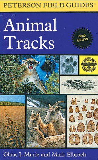 Animal Tracks (Peterson Field Guide)