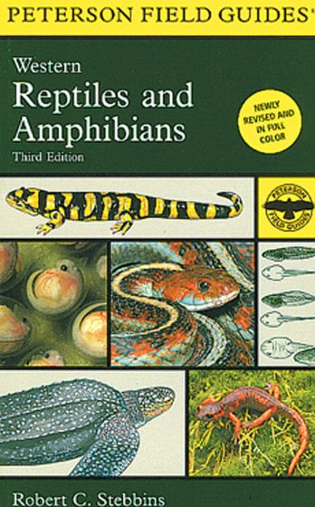 Western Reptiles And Amphibians (Peterson Field Guide)