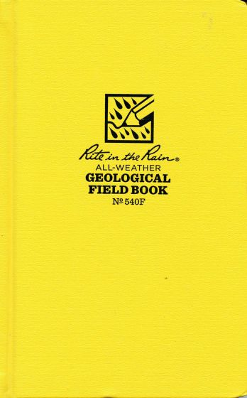 Waterproof Geology Field Book (Rite-In-The-Rain®).