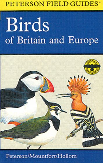 Birds Of Britain And Europe (Peterson Field Guide)