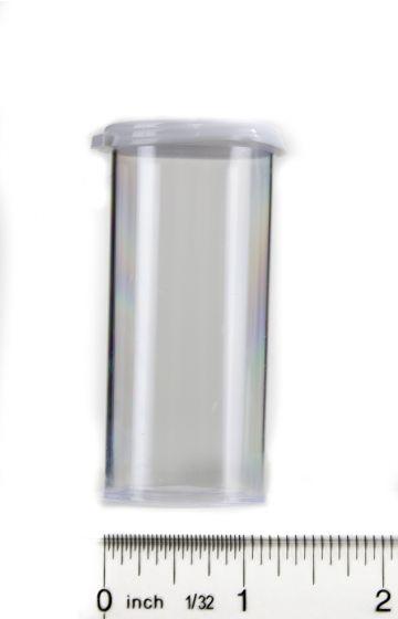 Snap Cap Vials (Clear Plastic