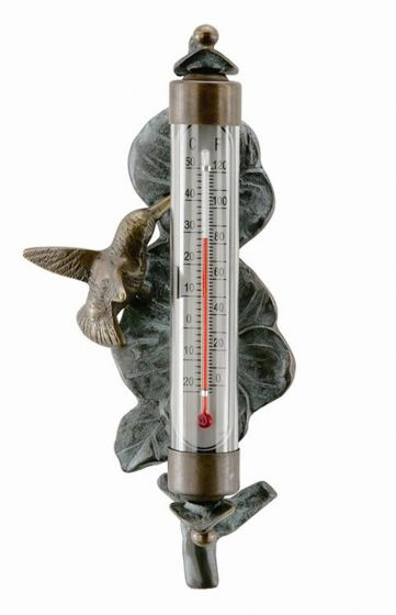 Hummingbird Decorative Thermometer.