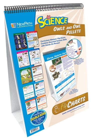 Owls And Owl Pellets Curriculum Mastery® Flip Chart Set