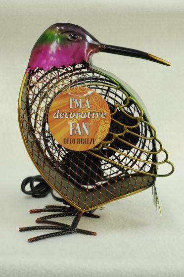 Hummingbird Shaped Decorative Fan