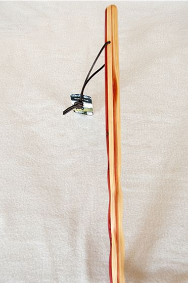"Twisted Cedar 55"" Walking Stick"