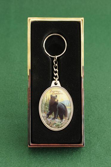 Black Bear Keychain