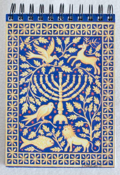Hanukkah Notepad