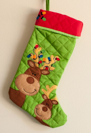 Reindeer Children'S Stocking