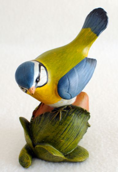 Bird On Acorn Statuette