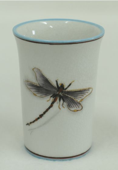 Dragonfly Decorative Porcelain Glass