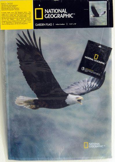 Bald Eagle Garden Flag
