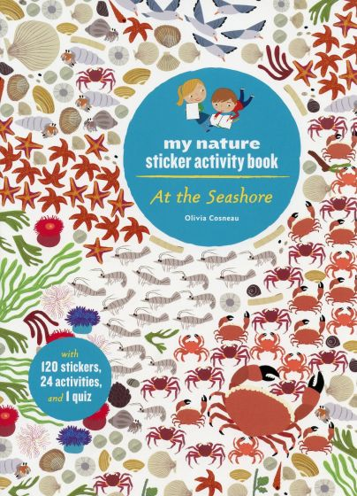 At the Seashore (My Nature Sticker Activity Book Series)