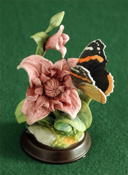 Admiral Butterfly Sculpture