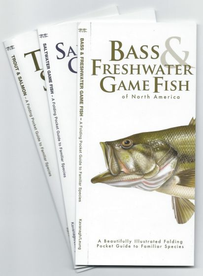 Pocket Fish Identification Guide® Collection (Discounted Set of 3 Guides)