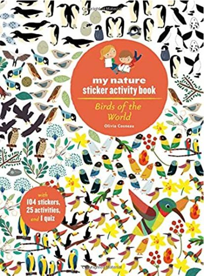 Birds of the Word (My Nature Sticker Activity Book Series)
