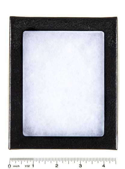 """Flexible Plastic-Topped Display Case (4½"""" X 5½"""" X ¾"""")"""