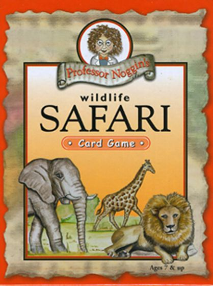 Wildlife Safari Card Game (Professor Noggin)