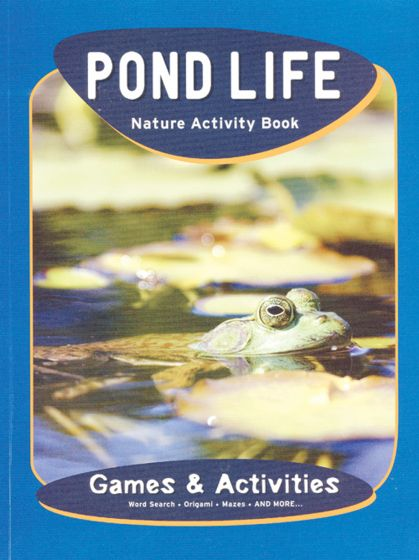 Pond Life Nature Activity Book